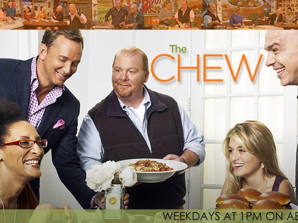 Mario Batali on The Chew