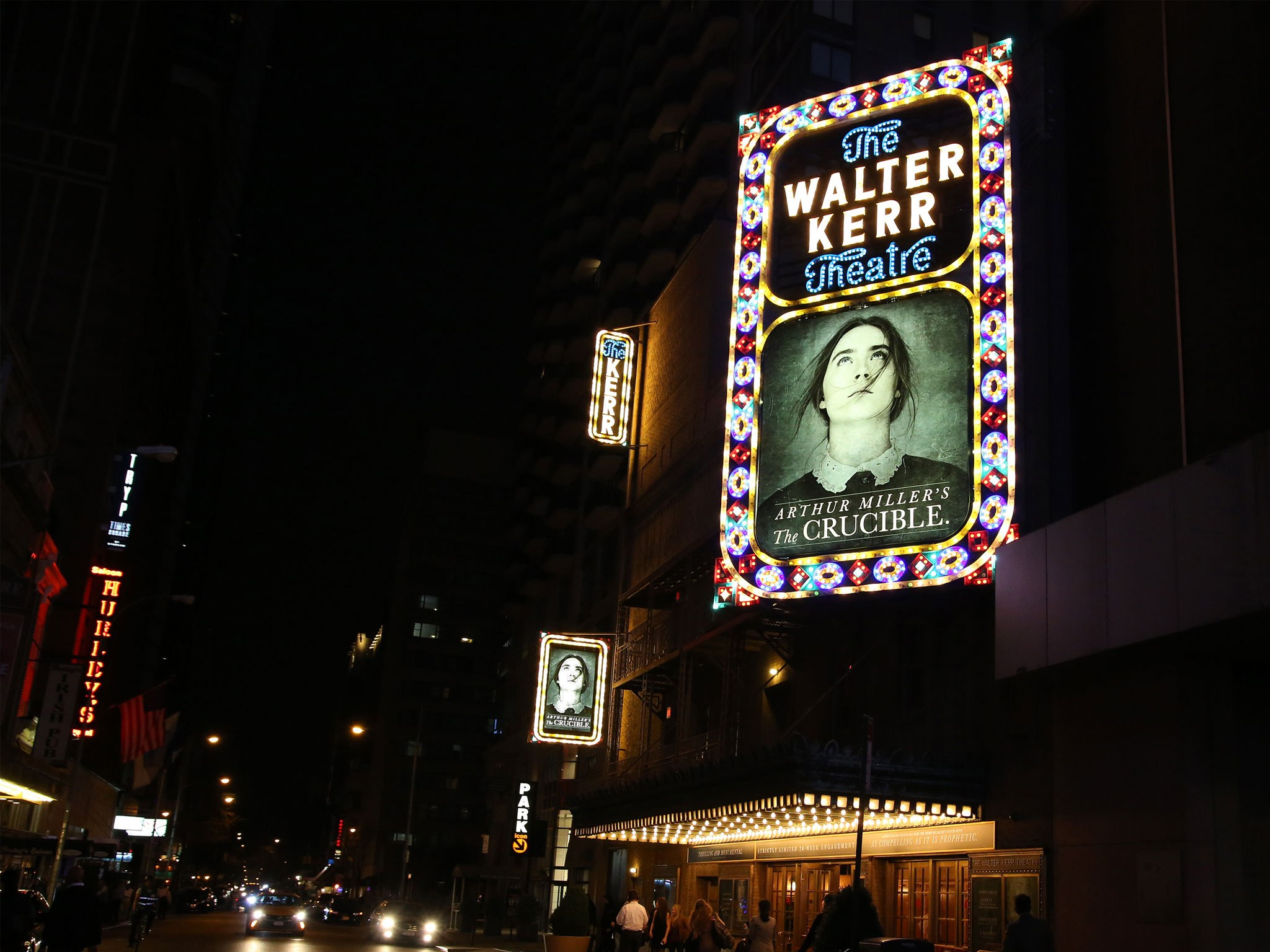 The Crucible Marquee