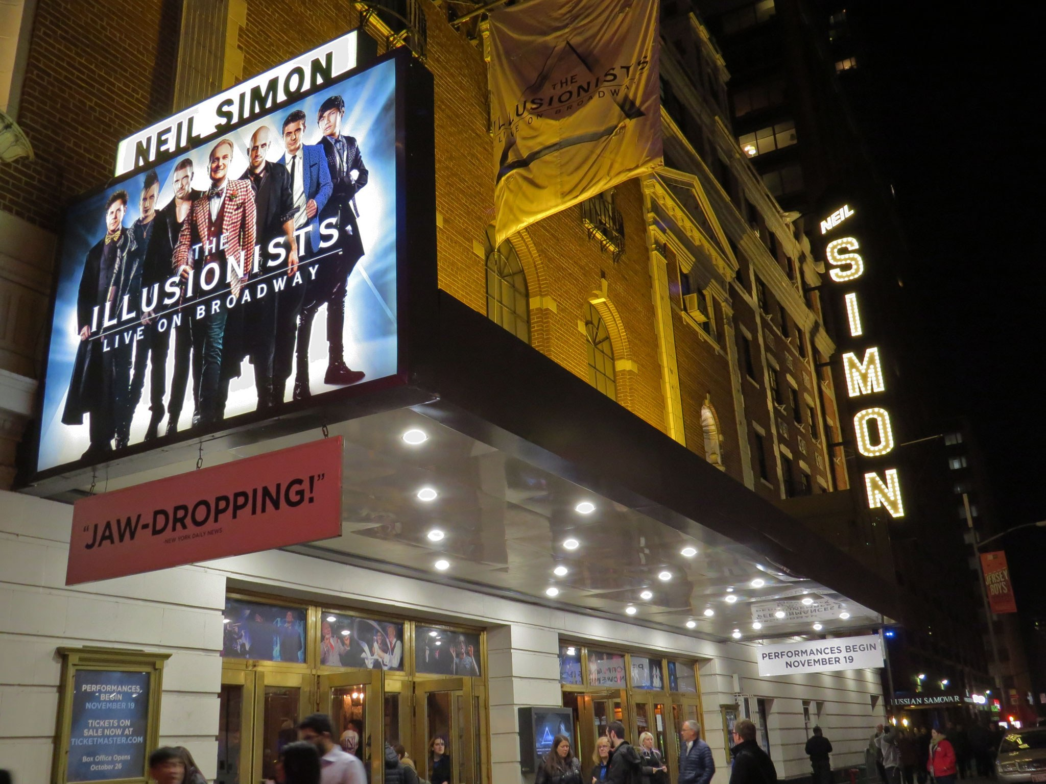 The Illusionists: Live on Broadway (2015) Marquee