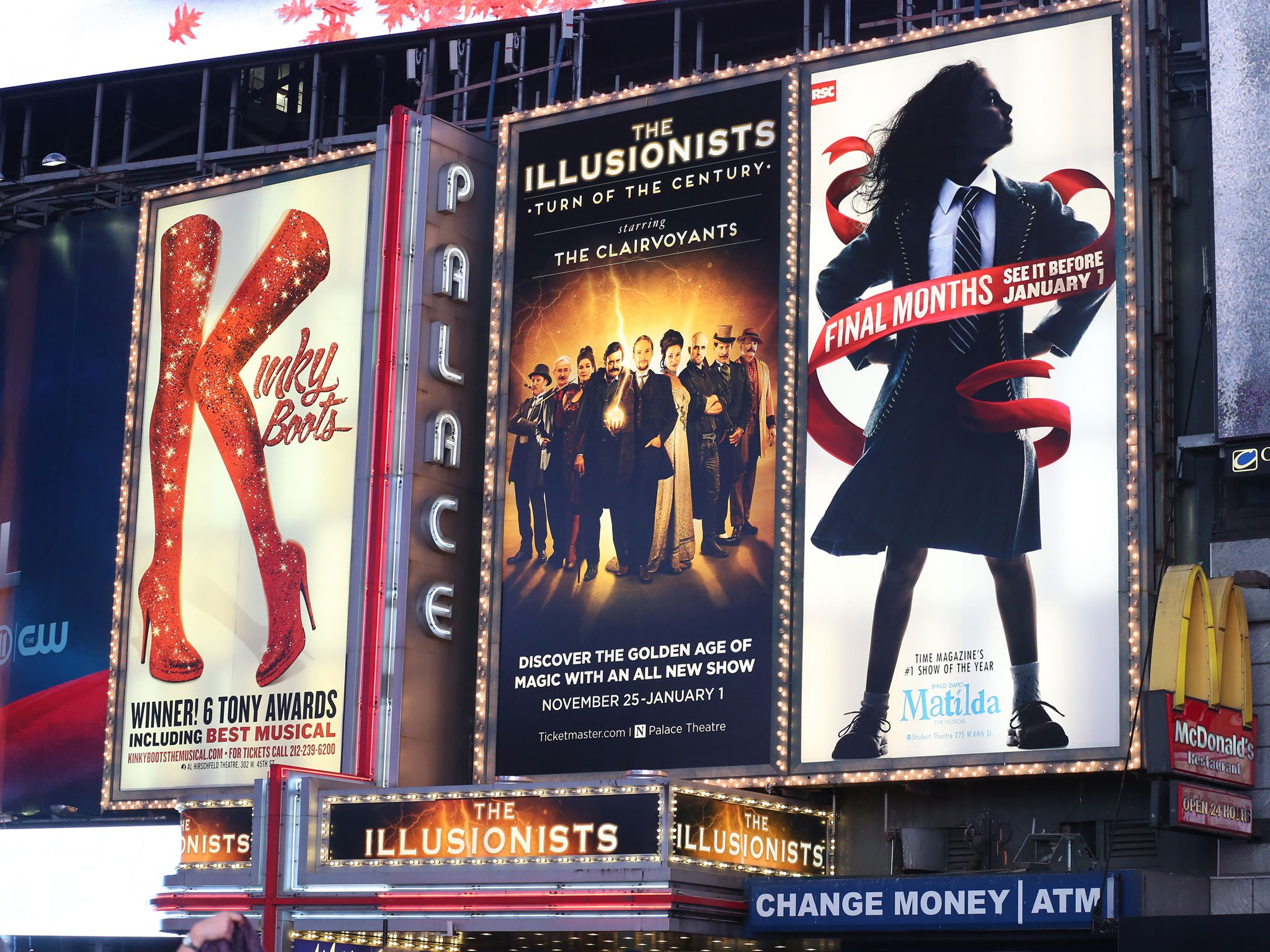 The Illusionists: Turn of the Century (2016) Marquee