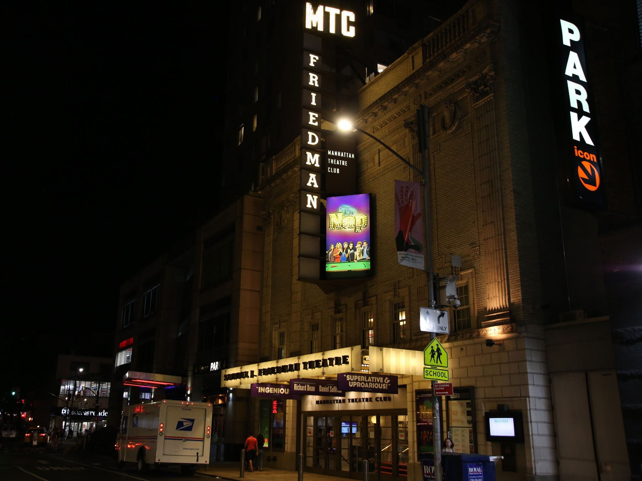 The Nap Marquee on Broadway