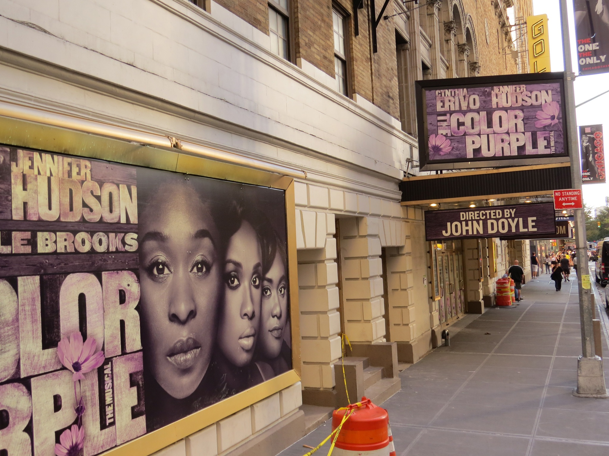 The Color Purple Marquee