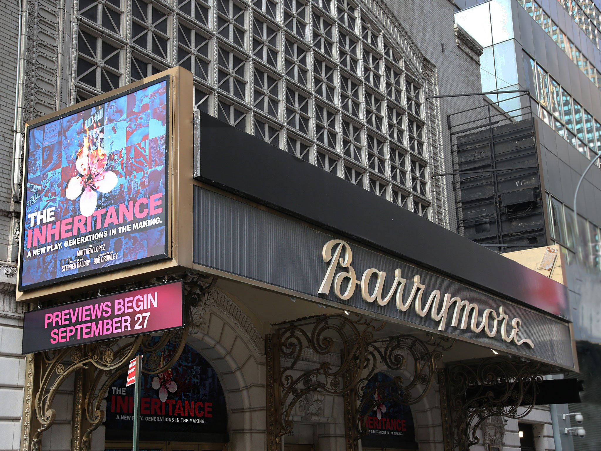 The Inheritance at the Barrymore Theatre