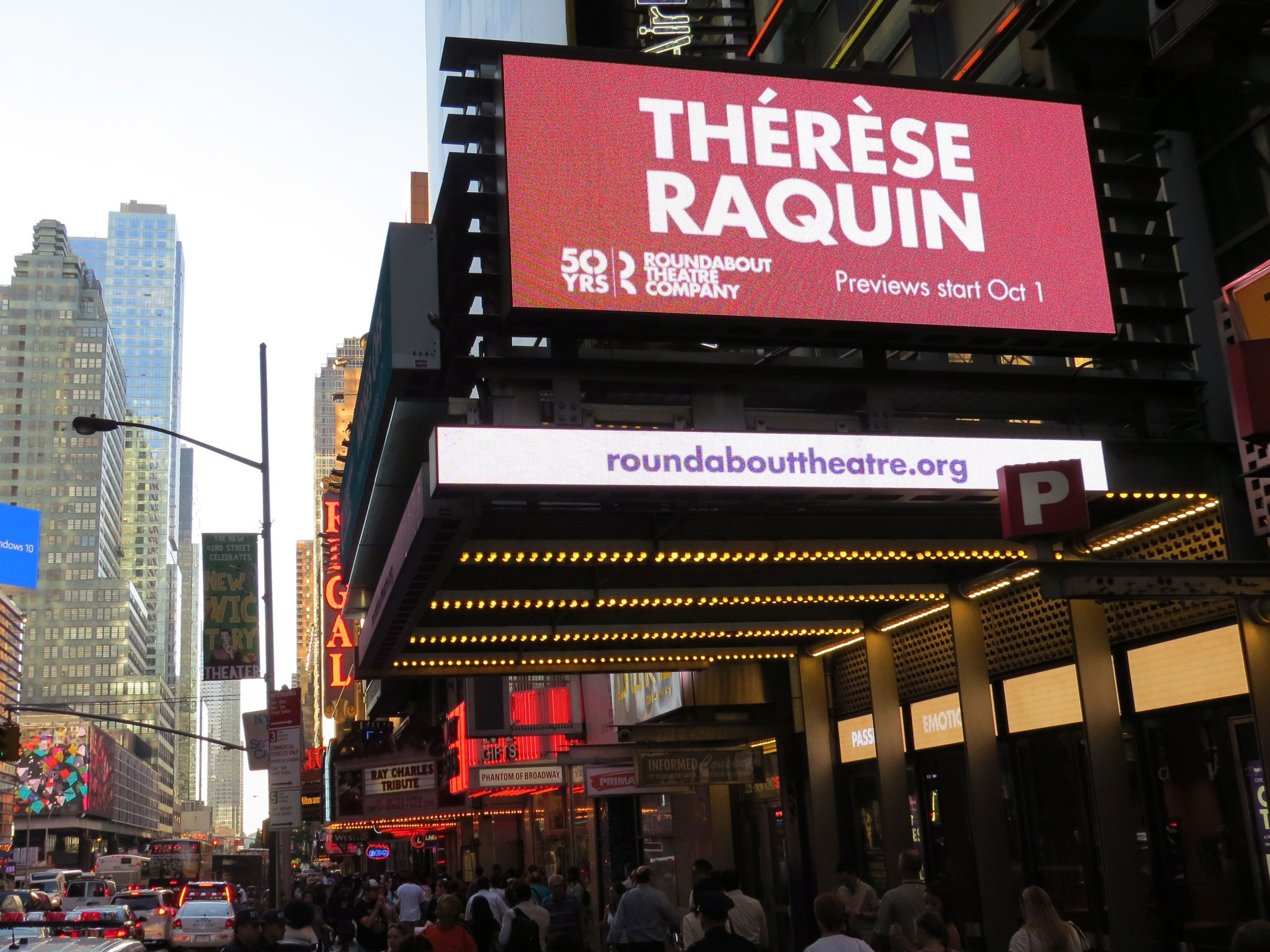 Therese Raquin Marquee