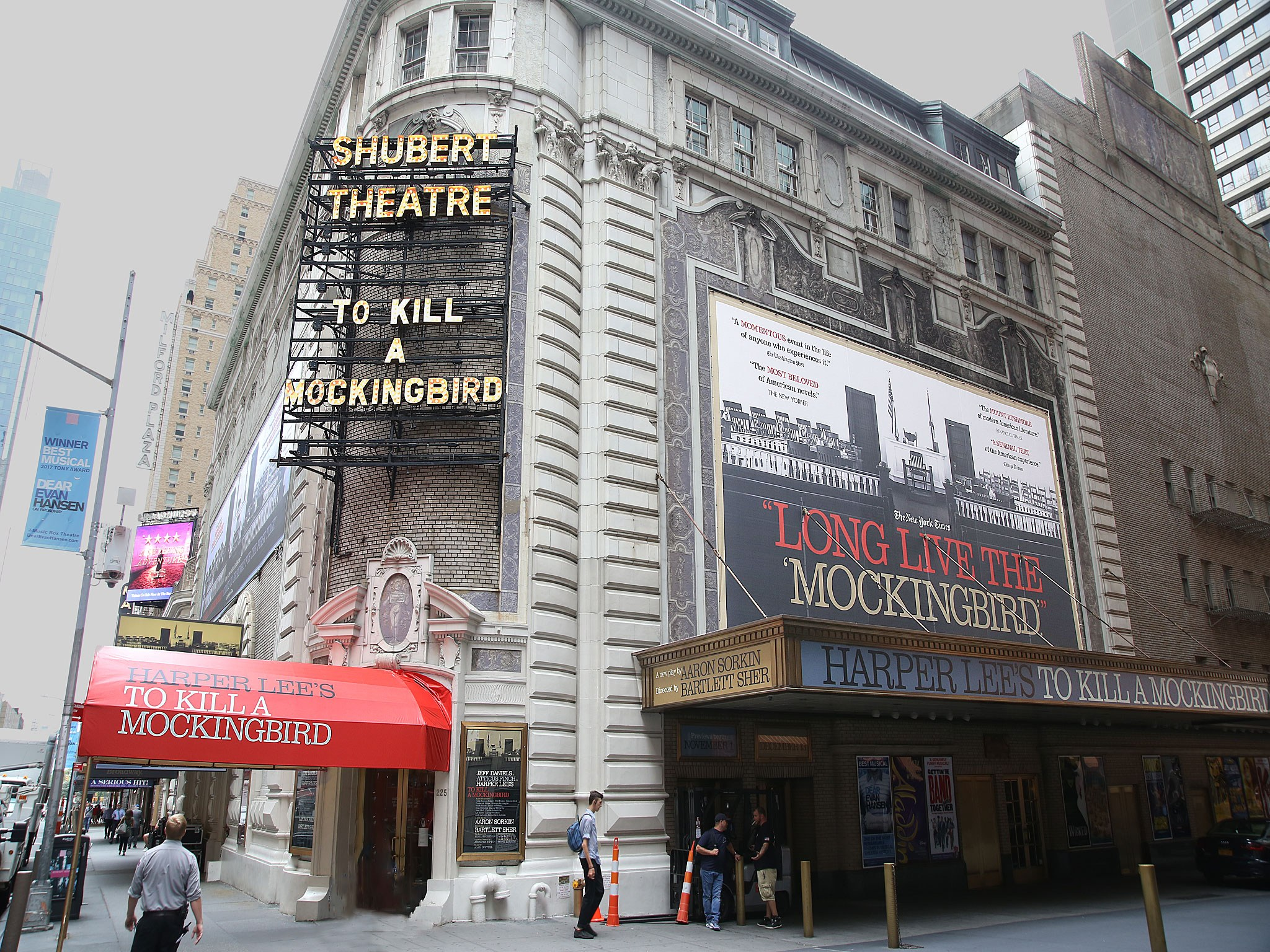 To Kill a Mockingbird at the Shubert Theatre