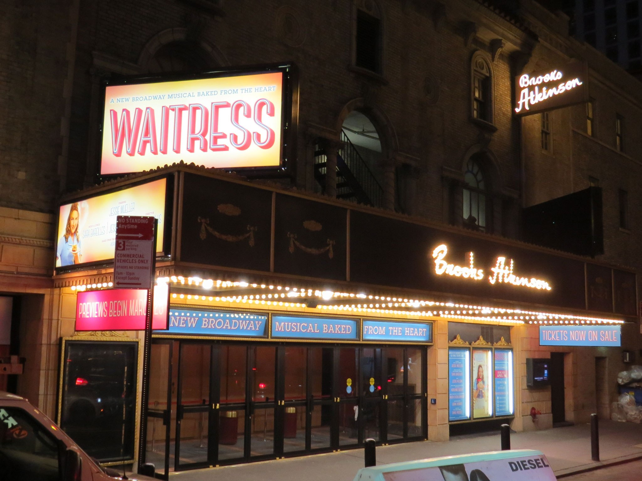 Waitress on Broadway at Brooks Atkinson Theatre
