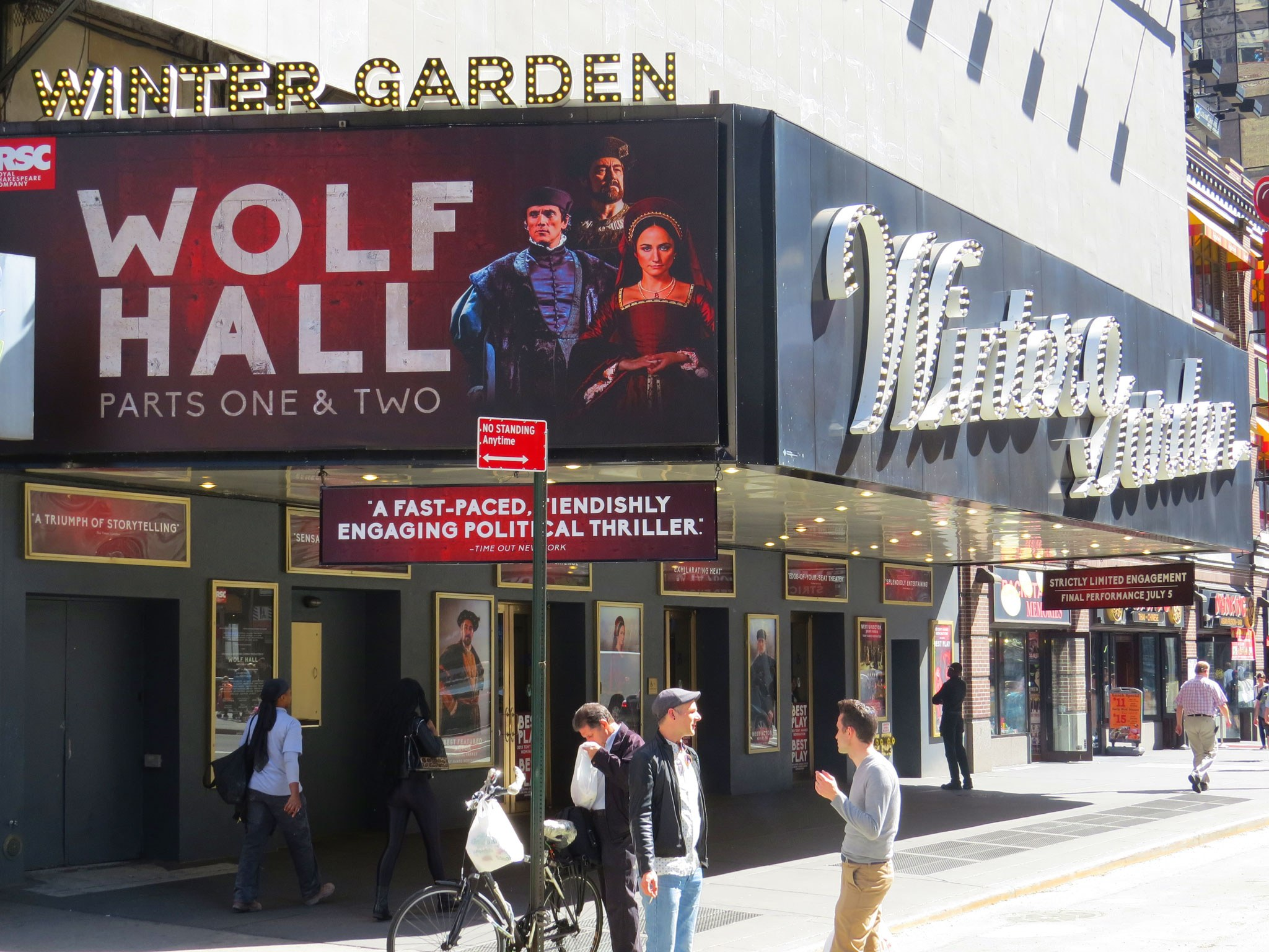 Wolf Hall: Parts One & Two Marquee