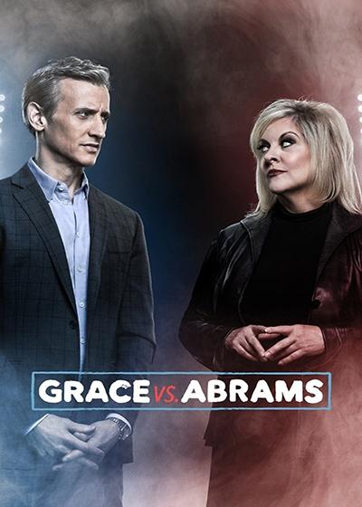 Grace vs. Abrams Show Poster