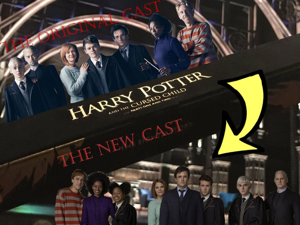 Harry Potter New and old cast on Broadway