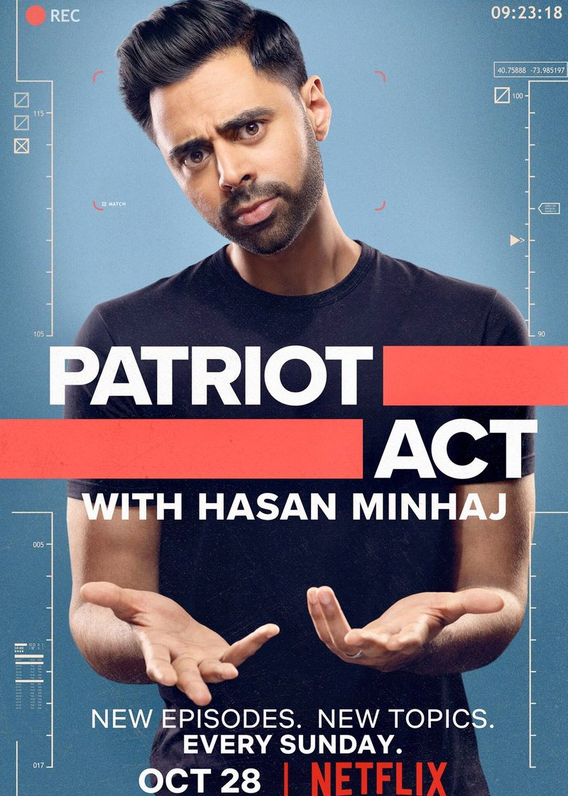 Patriot Act Show Poster