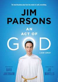 An Act of God (2015, Jim Parsons) Show Poster