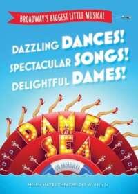 Dames At Sea Show Poster