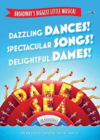 Dames At Sea Show Poster