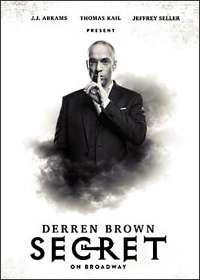 Derren Brown: Secret Show Poster