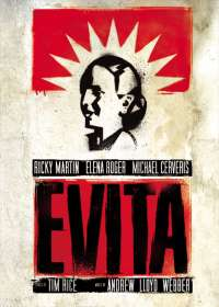 Evita Show Poster
