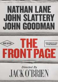 The Front Page Show Poster