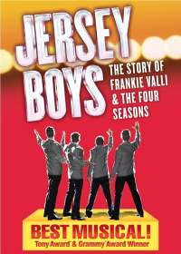 Jersey Boys Show Poster