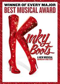 Kinky Boots Show Poster
