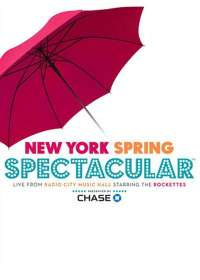 New York Spring Spectacular 2015 Show Poster