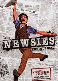 Newsies Show Poster