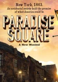 Paradise Square Show Poster