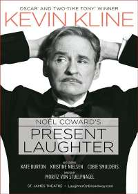 Present Laughter Show Poster