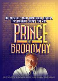 Prince of Broadway Show Poster