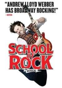 School of Rock Show Poster