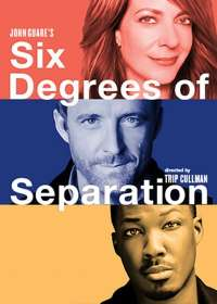 Six Degrees of Separation Show Poster