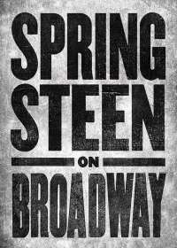 Springsteen on Broadway Show Poster