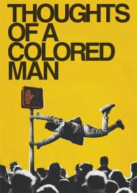Thoughts of a Colored Man Show Poster