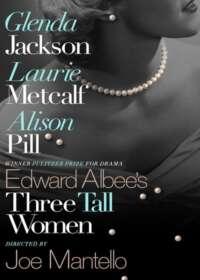 Three Tall Women Show Poster