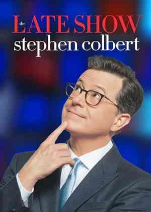 The Late Show with Stephen Colbert Poster