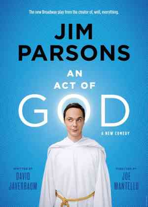 An Act of God (2015, Jim Parsons) Poster
