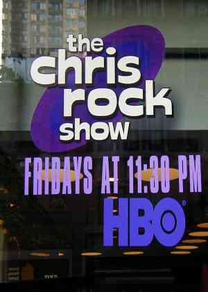 Chris Rock Show Poster