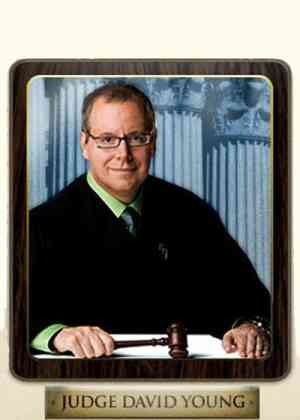 Judge David Young Poster