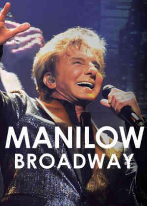 Manilow Broadway Poster