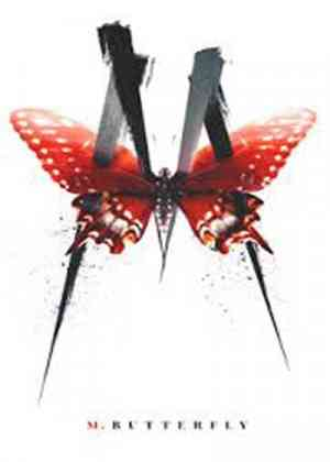 M Butterfly Poster