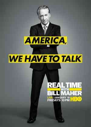 Real Time with Bill Maher Poster