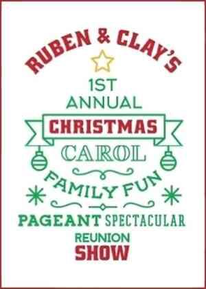 Ruben & Clay's Christmas Show Poster