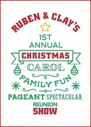 Ruben & Clay's Christmas Show Poster