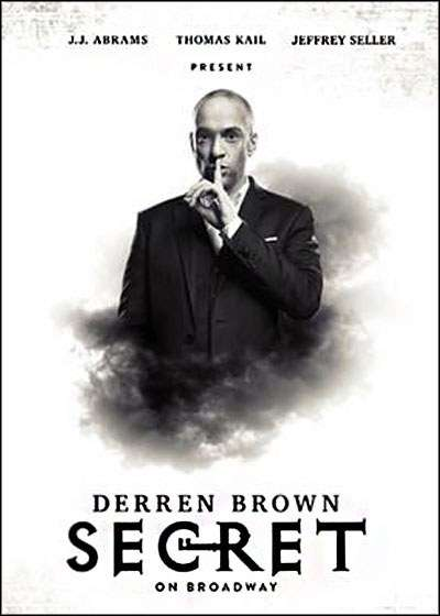 Derren Brown: Secret Broadway show