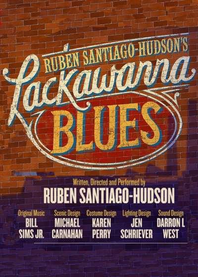 Lackawanna Blues Broadway show