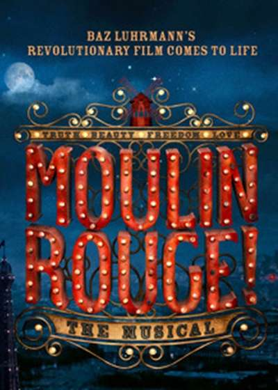 Moulin Rouge Broadway show