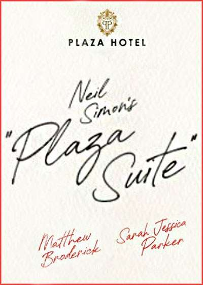 Plaza Suite Broadway show