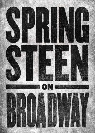 Springsteen on Broadway Broadway show