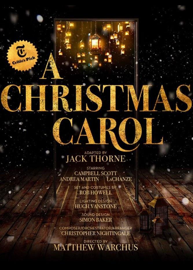 A Christmas Carol 2021 Poster