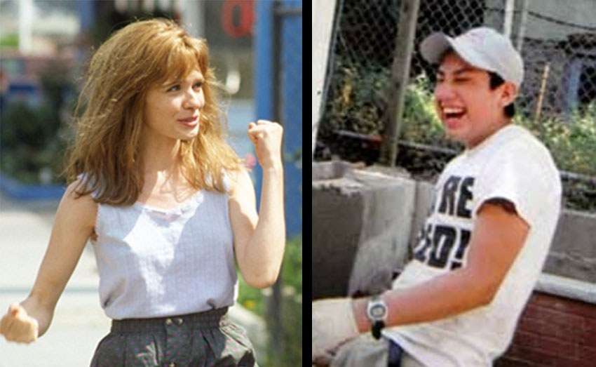 Adrienne Shelly and Diego Pillco