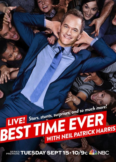 Best Time Ever Show Poster