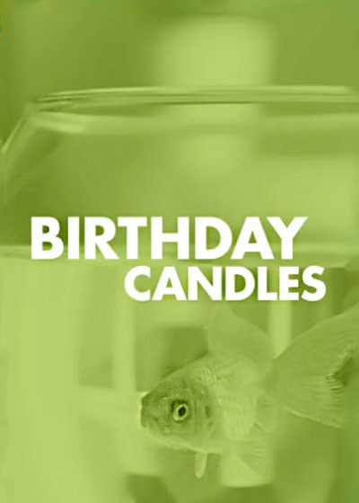 Birthday Candles Poster